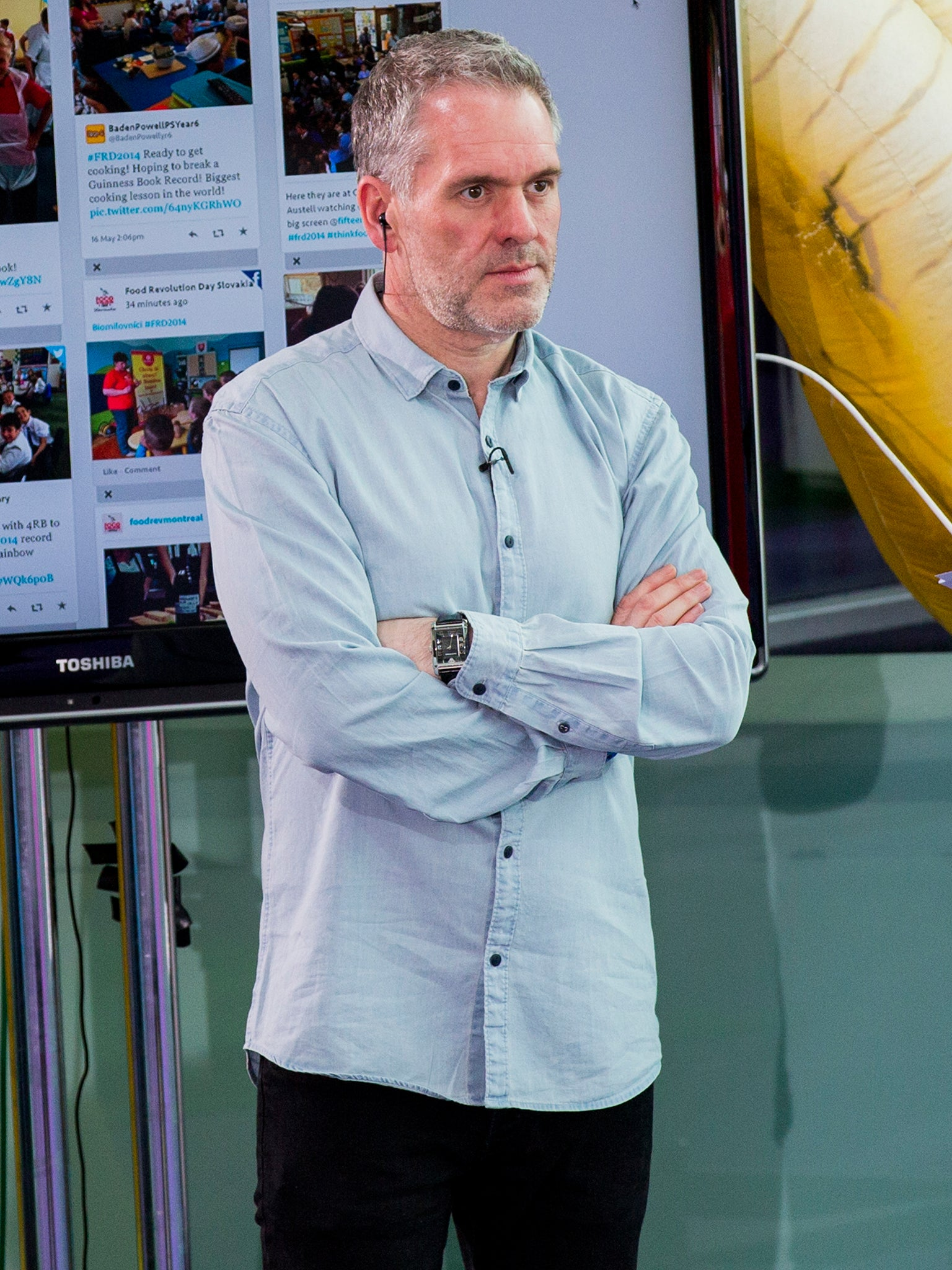 Chris Moyles Claims Radio 1 Controller Sacked Him Before He Could