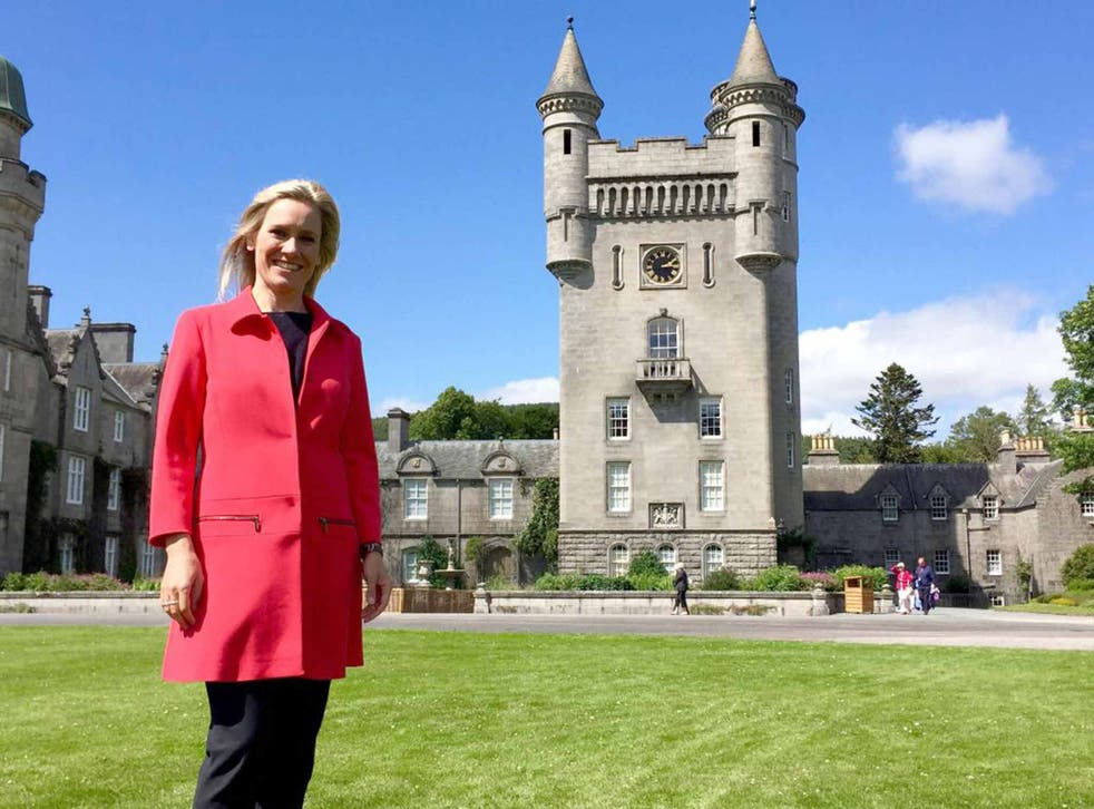 Royal treatment: Sophie Raworth glossed over great swathes of history