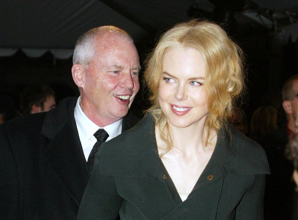 Nicole Kidman said she had discussed the play with her father, Antony (left)