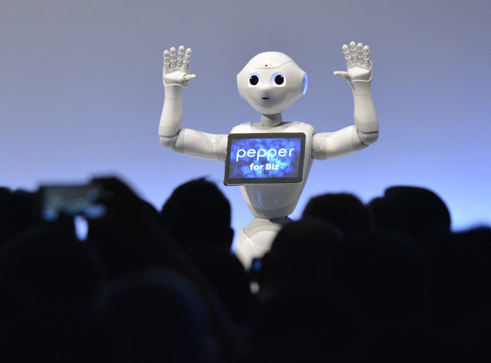 Pepper is an 'emotional' robot which has been available to buy since June 2015