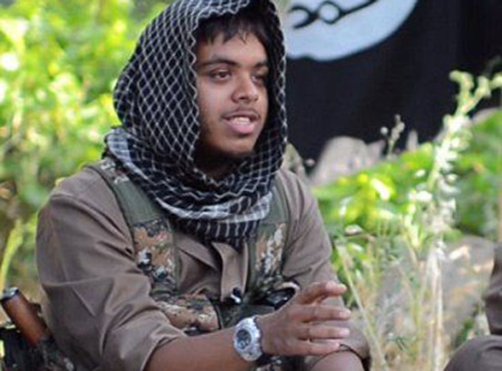 """The drone strike which killed Britons Reyaad Khan (pictured) and Ruhul Amin in the Isis stronghold of Raqqah was justified on the grounds of """"self-defence"""""""