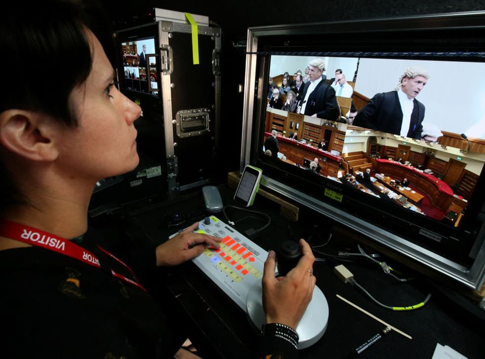 Cameras were allowed to broadcast live from Scotland's highest court for the first time