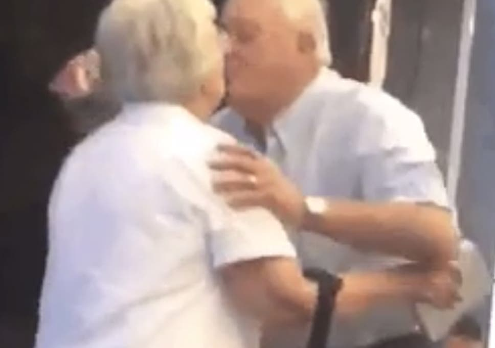 Video Of Elderly Gentleman Greeting His Lady At The Airport Has The Internet Going Crazy