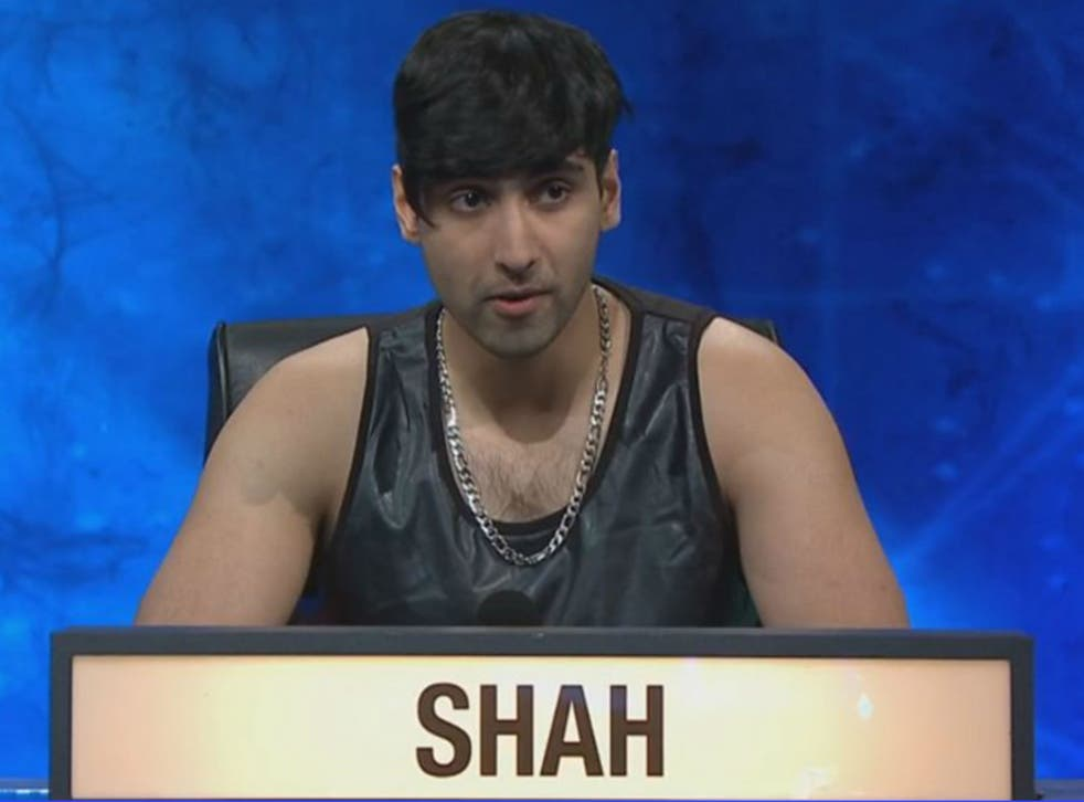 Kaamil Shah was easily the best-dressed contestant on University Challenge