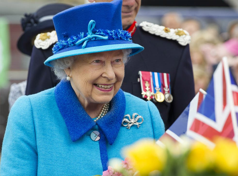 Queen Elizabeth II, on the day she becomes Britain's longest reigning monarch