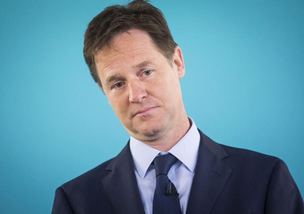 Nick Clegg returns to frontlin...