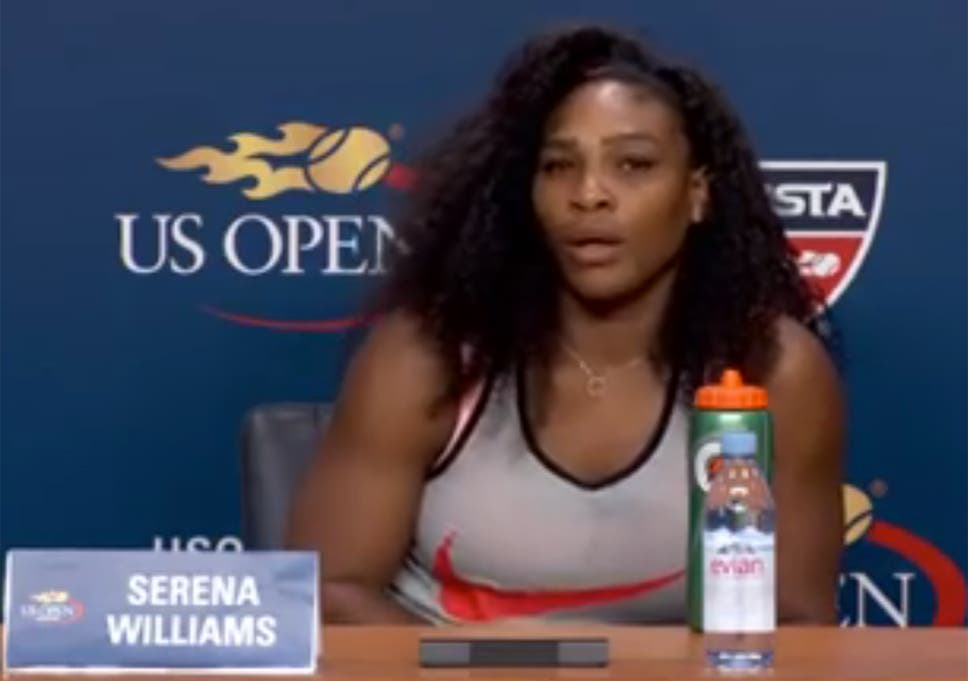 7c5aa99f9a6 Serena Williams is brutally honest with a journalist who asked why ...
