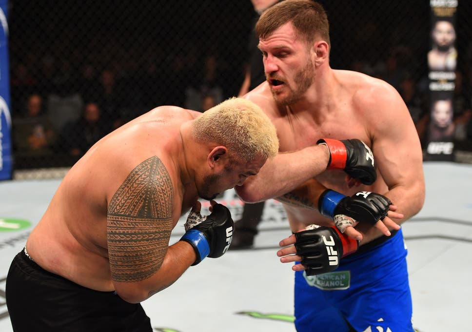 UFC heavyweight Stipe Miocic answers the Ultimate Eight