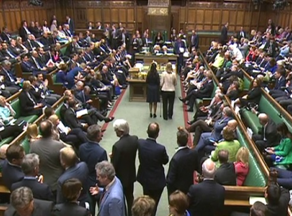 The chamber was unusually full for a Friday lunchtime