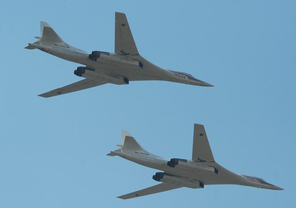 RAF Typhoon jets scrambled to intercept Russian bombers circling UK