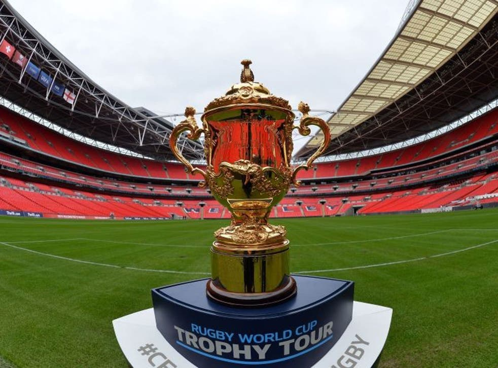 Magnet to rugby supporters: the Webb Ellis Cup is up for grabs this autumn and residents of a number of cities could make money renting out property to fans from around the globe