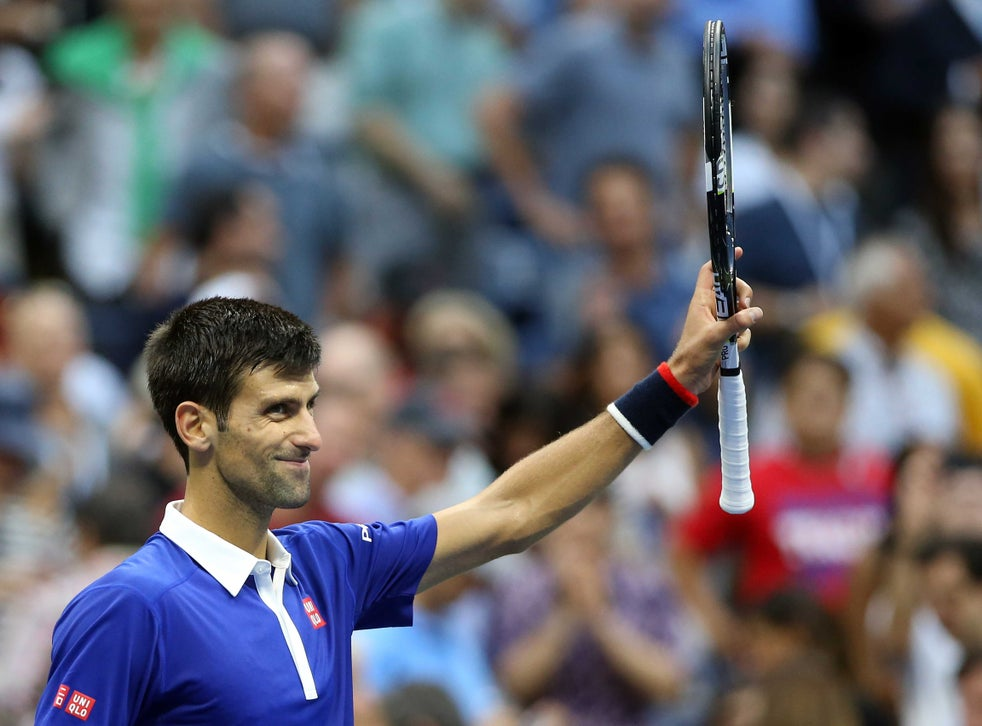 Us Open Novak Djokovic Breezes Into Final After Thrashing Defending Champion Marin Cilic The Independent The Independent