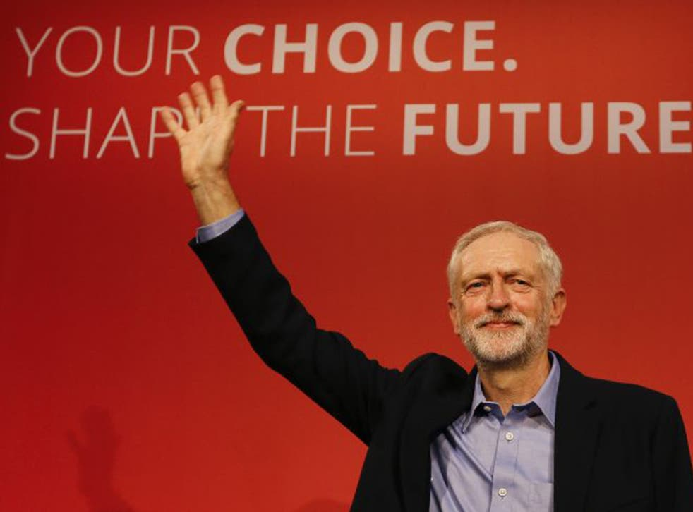 Jeremy Corbyn won the leadership contest in the first round, with a 59% share of the vote