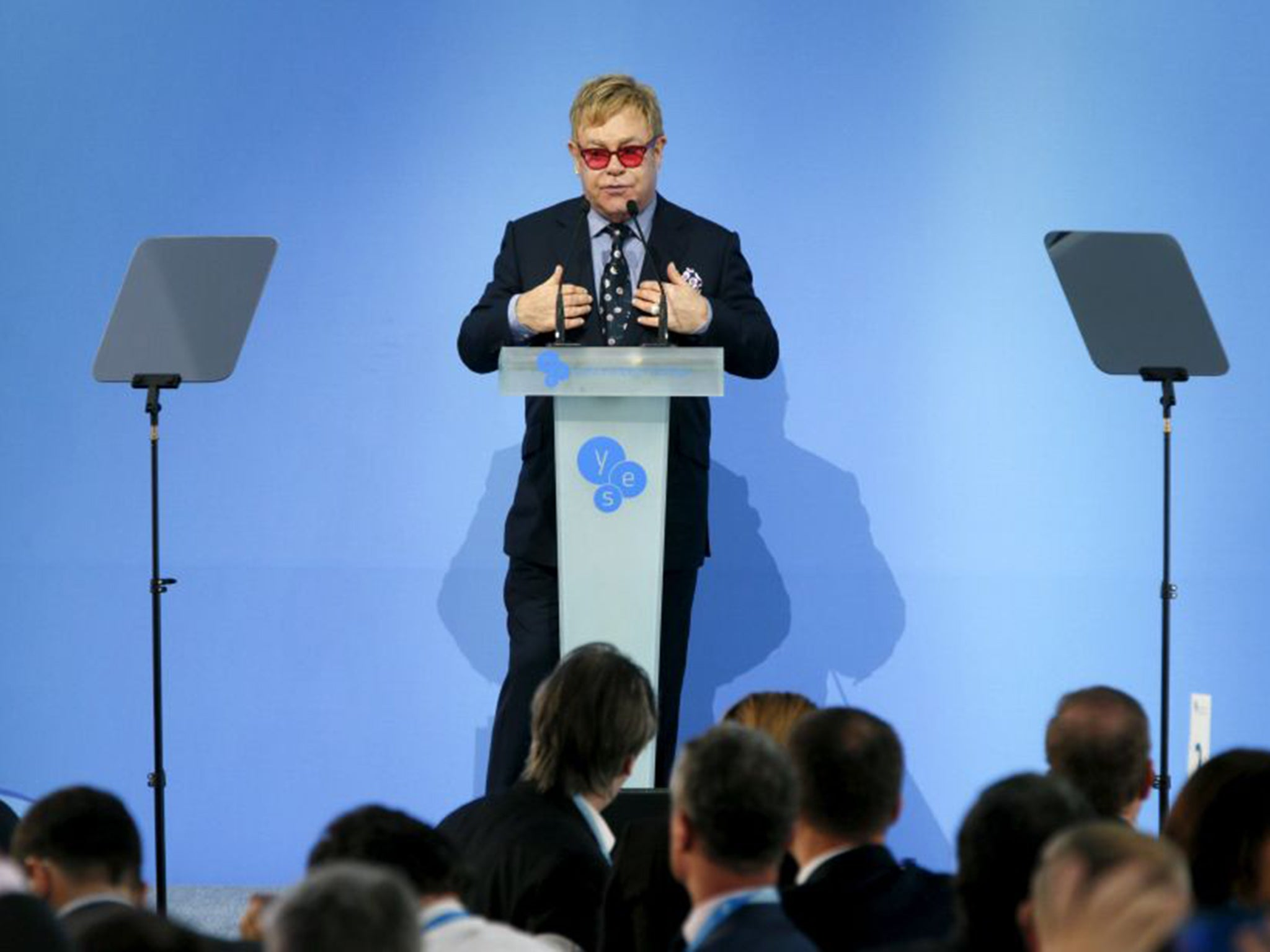 Elton John Urges Ukraine To 'wake Up' Over Gay Rights  The Independent