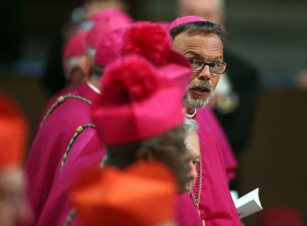 Bishop Tebartzvan Elst at St Peter's