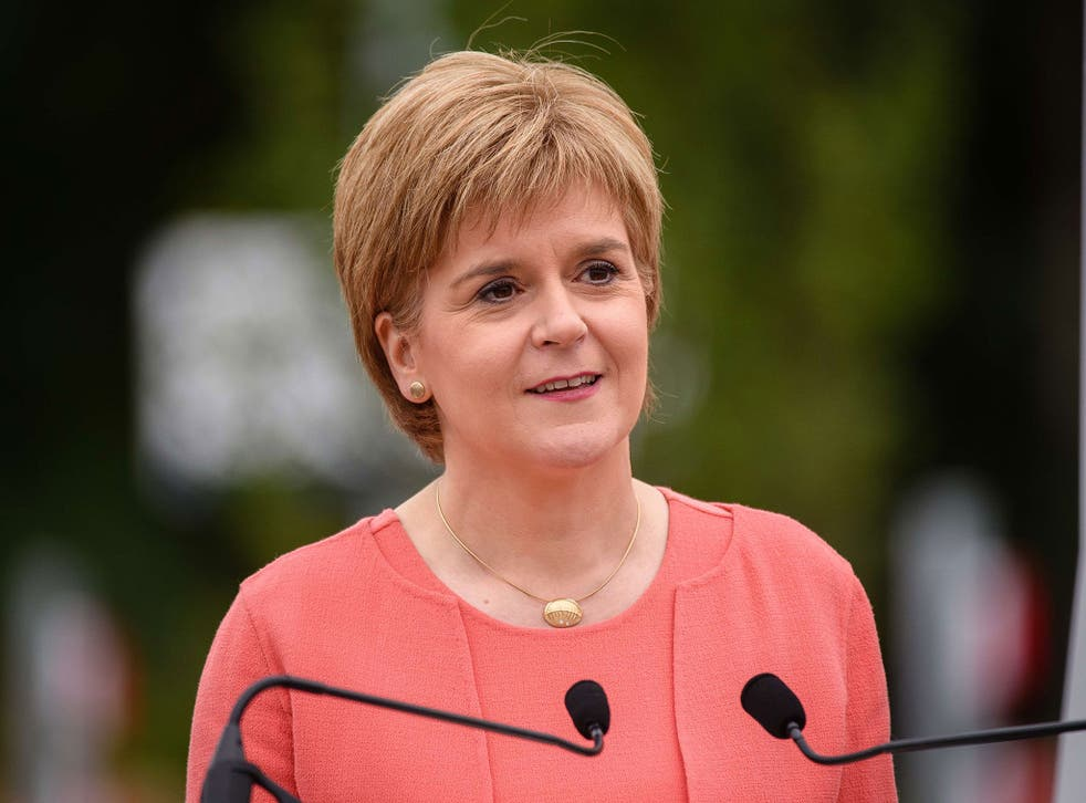 Nicola Sturgeon said the SNP's manifesto would include a timescale for another vote