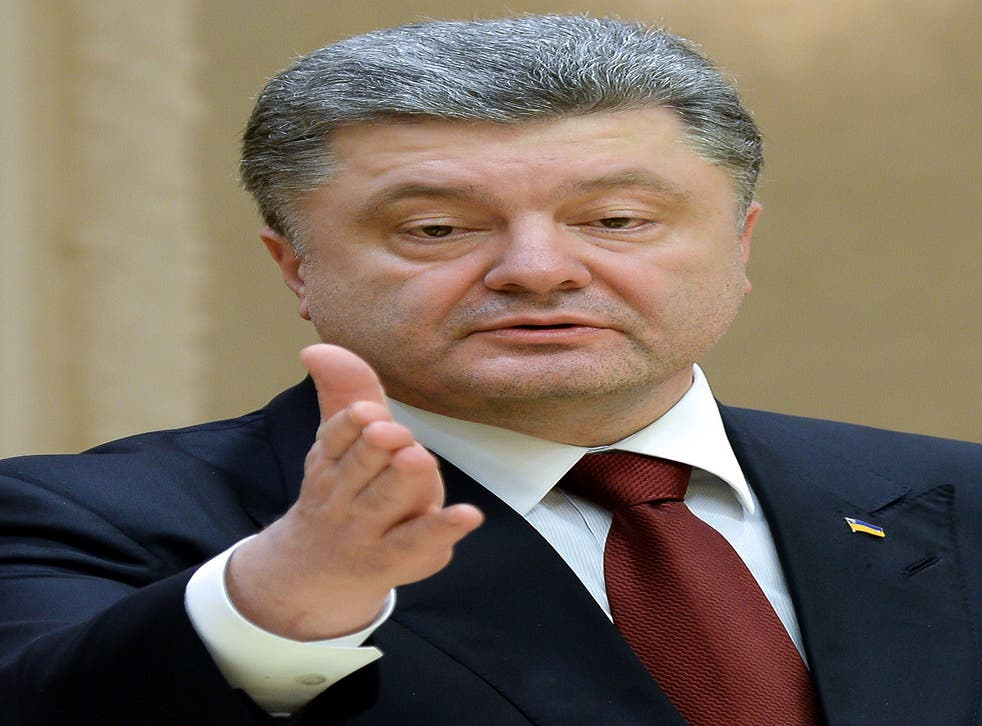 'This is not the end of the war, but instead a change in tactics by Russia,' says President Poroshenko