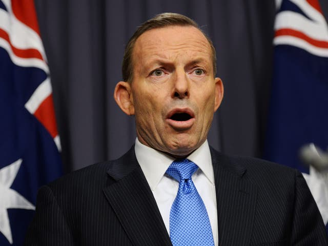 """Tony Abbott's """"nothing but bush"""" remark proved controversial"""