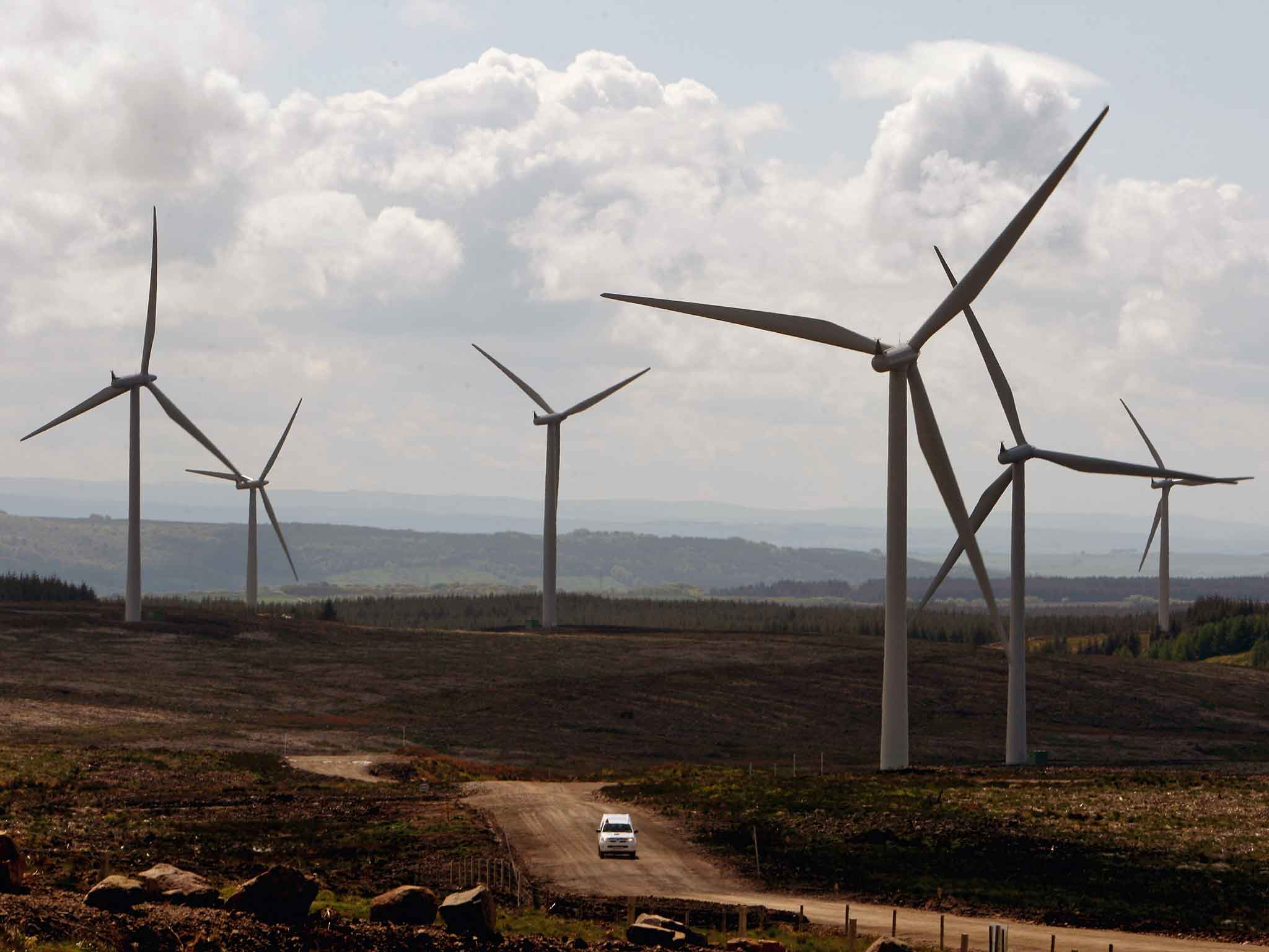 Scottish wind farm projects put at risk by Government subsidy