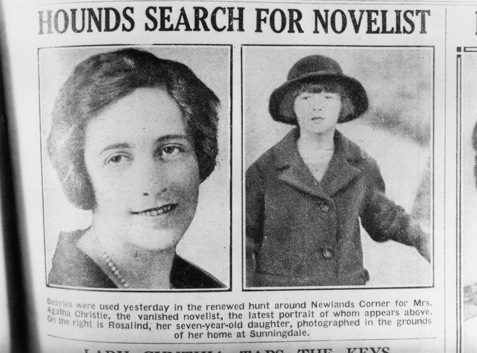 Agatha Christie's mysterious disappearance sparked a massive search involving 1,000 police