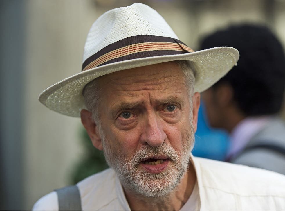 Jeremy Corbyn said people should 'carry on eating meat' if they wanted to