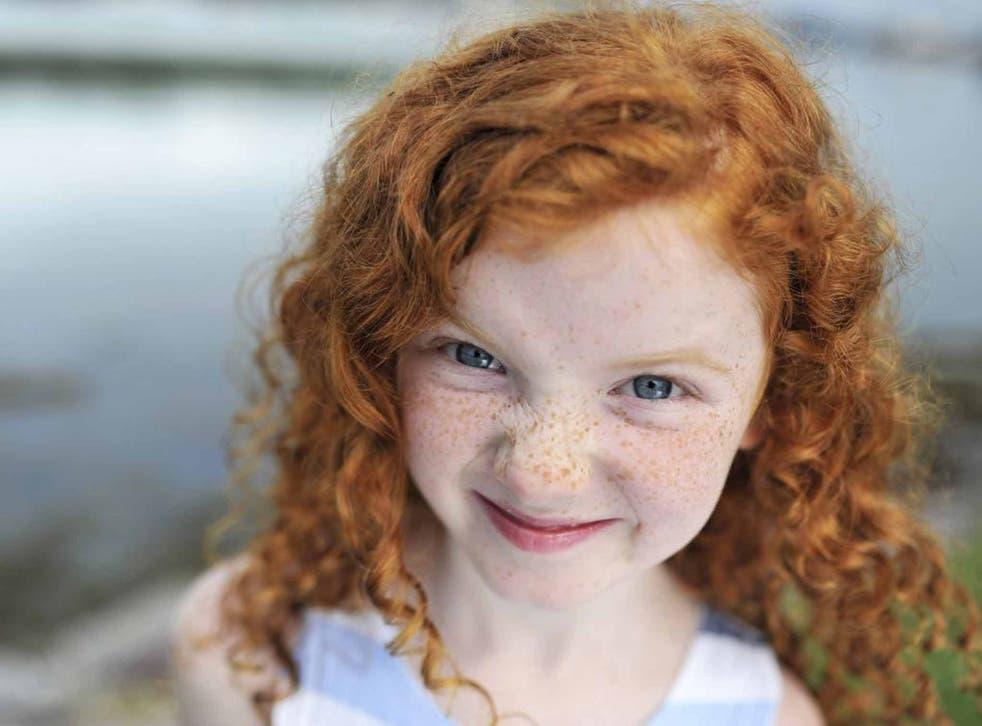Children with red hair will not age faster or slower