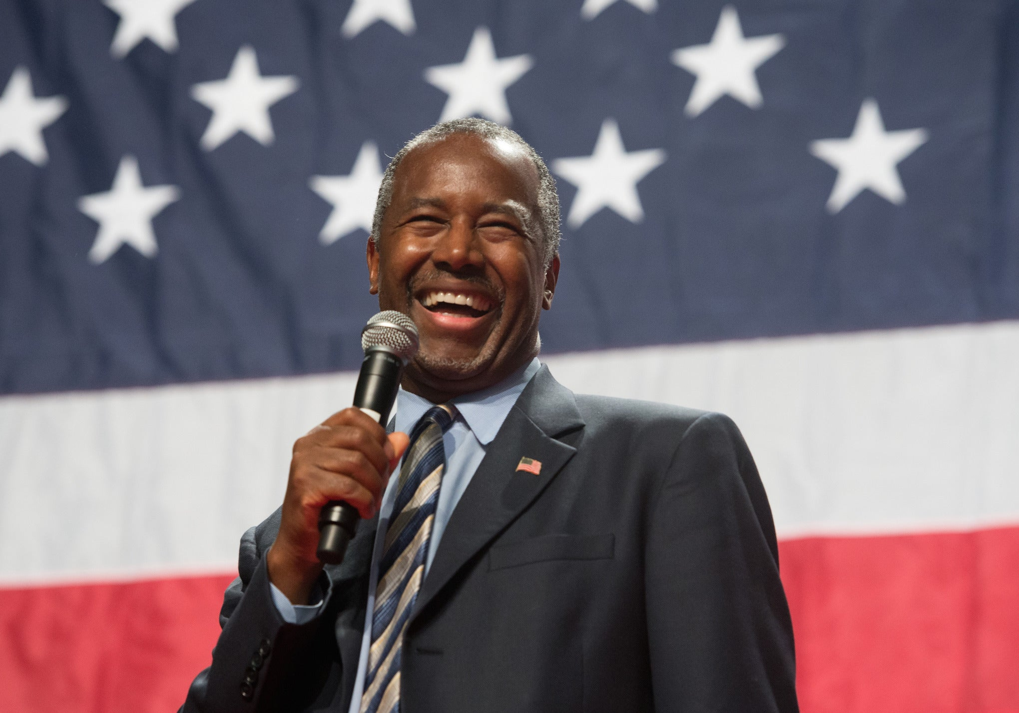 Ben Carson closes in on Donald Trump in latest poll   The Independentindependent_brand_ident_LOGOUntitled
