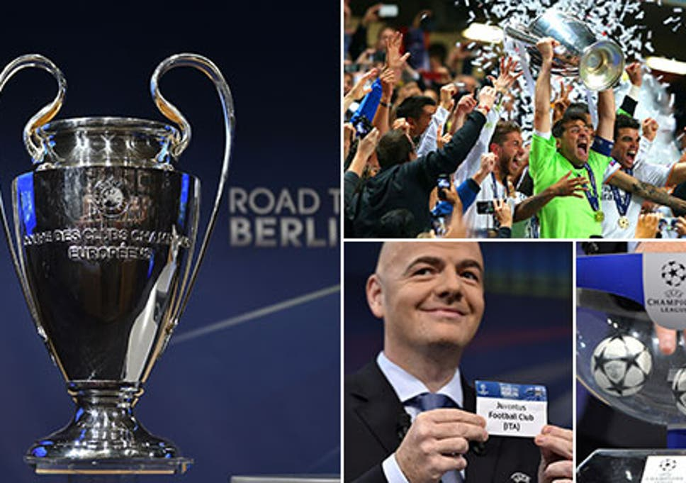 Champions League Draw Atletico Madrid Vs Real Madrid And Psg Vs