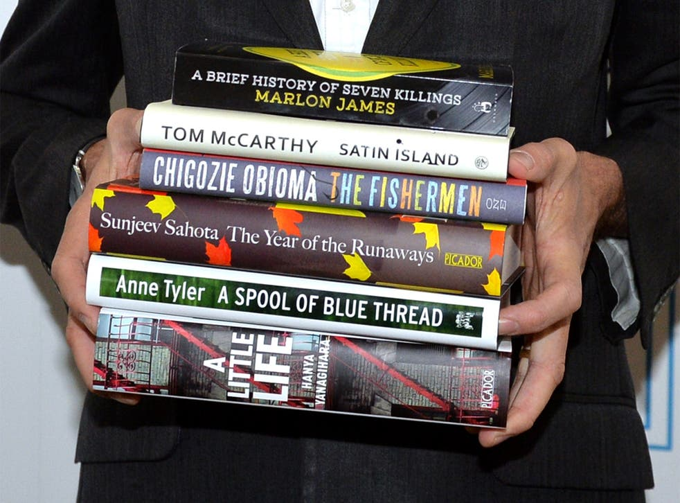 The six books that made the Man Booker Prize shortlist