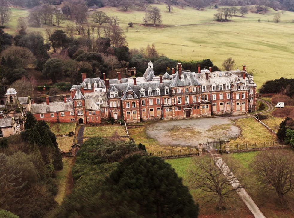 Kinmel Hall has been named one of the 10 most endangered Victorian and Edwardian structures in the UK