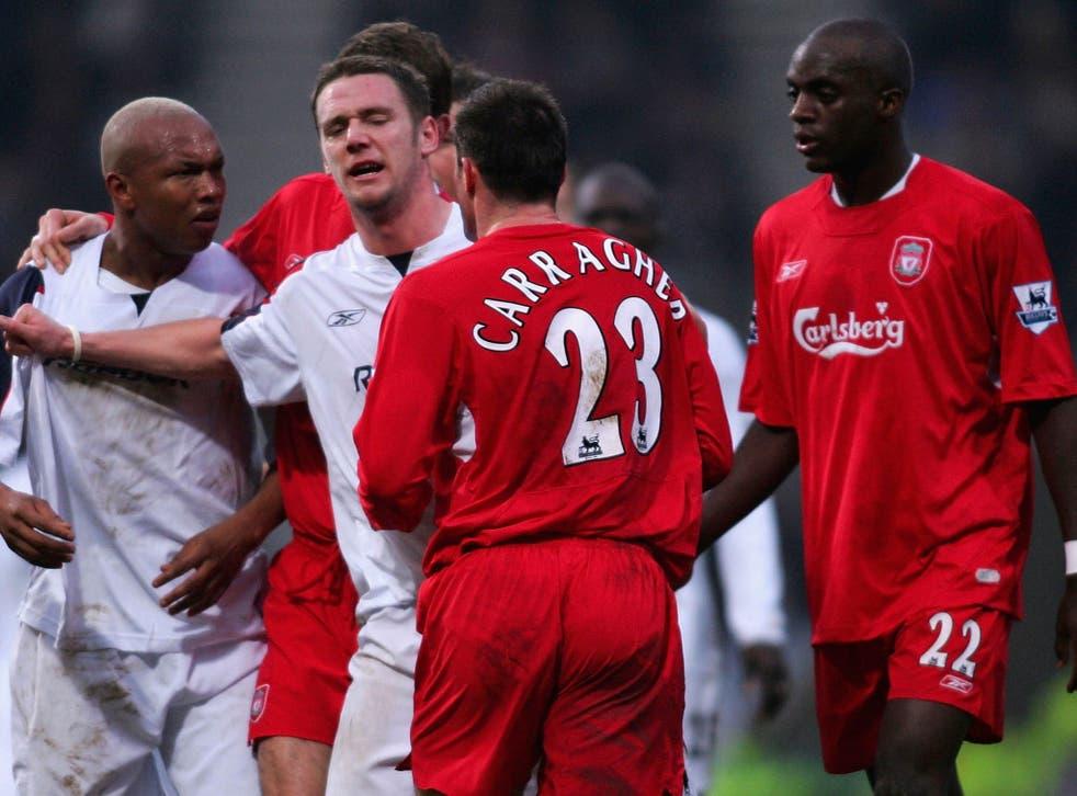 Jamie Carragher: Liverpool legend responds to El-Hadji Diouf's 'turkey'  barb   The Independent   The Independent