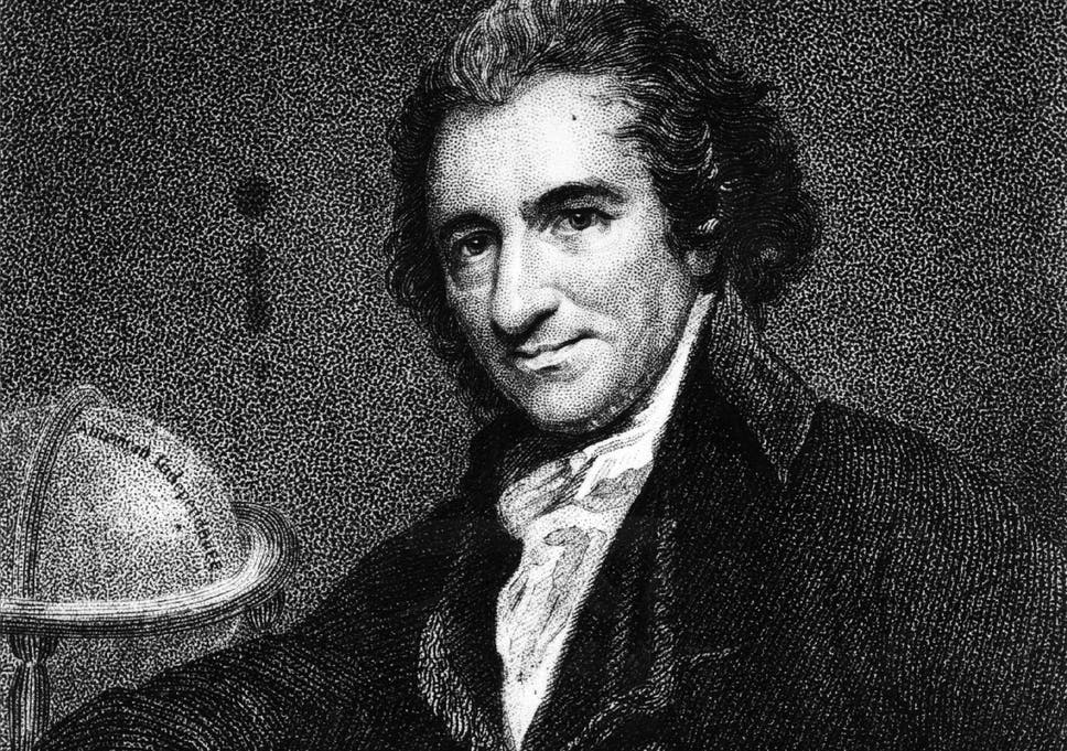Thesis Statement For Essay A New Essay Claims That A Passage In Rights Of Man Was Not Written Essay For High School Students also Essays With Thesis Statements Thomas Paine Claims A Huge House Of An Argument Built On Slender  Essay Topics High School