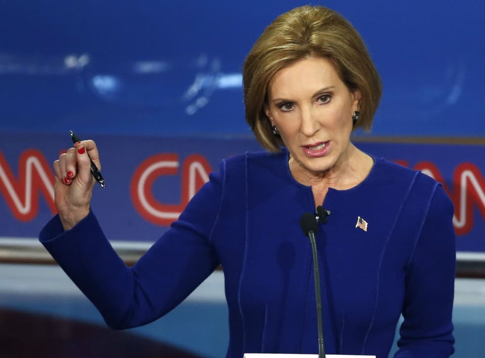 Carly Fiorina shone in the second debate