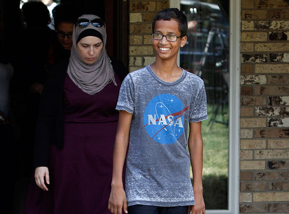 Ahmed Mohamed has been invited to go on a tour of MIT