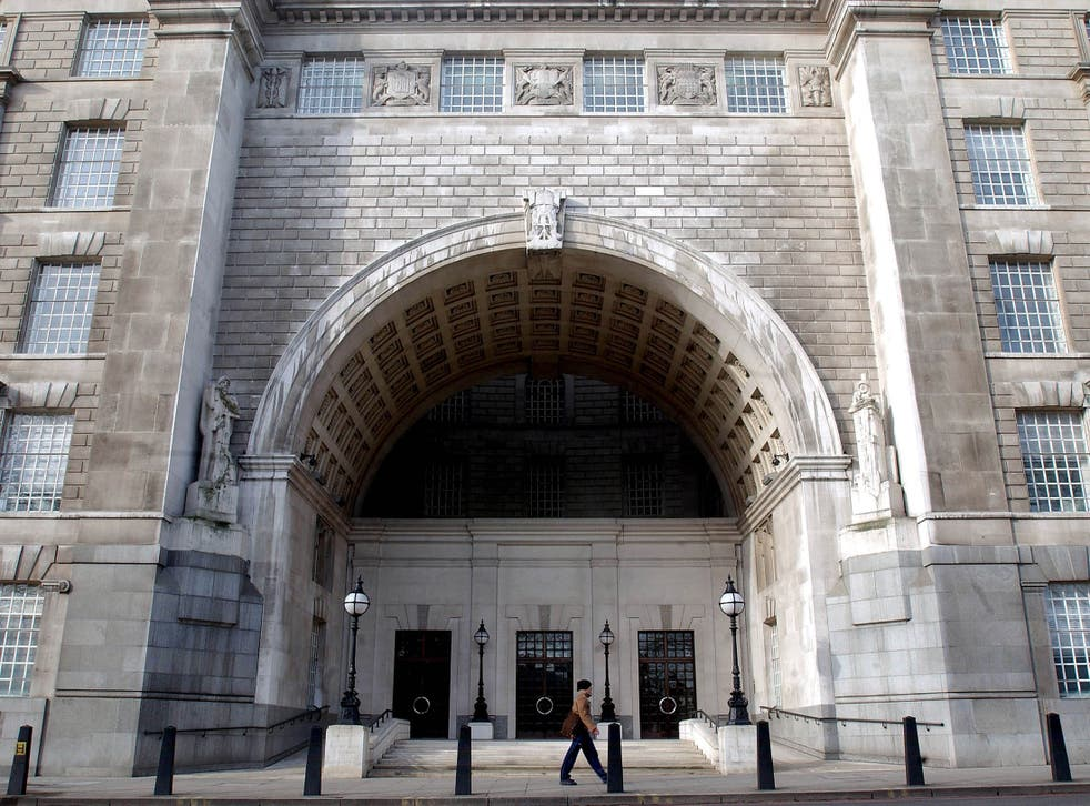 The MI5 headquarters in central London is seen on February 25, 2004