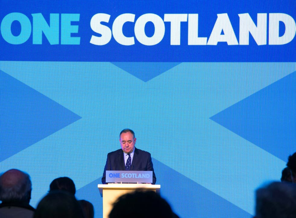 Alex Salmond has declared that another vote on Scotland remaining part of the UK was 'inevitable'