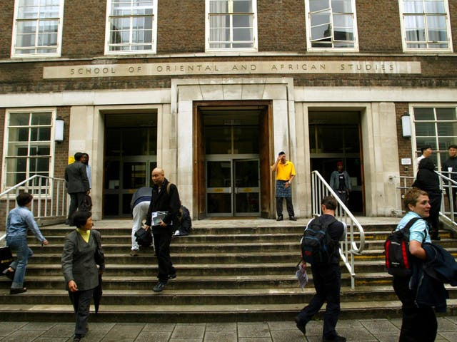A protest will be held at the Soas campus against the academic's involvement with AfD