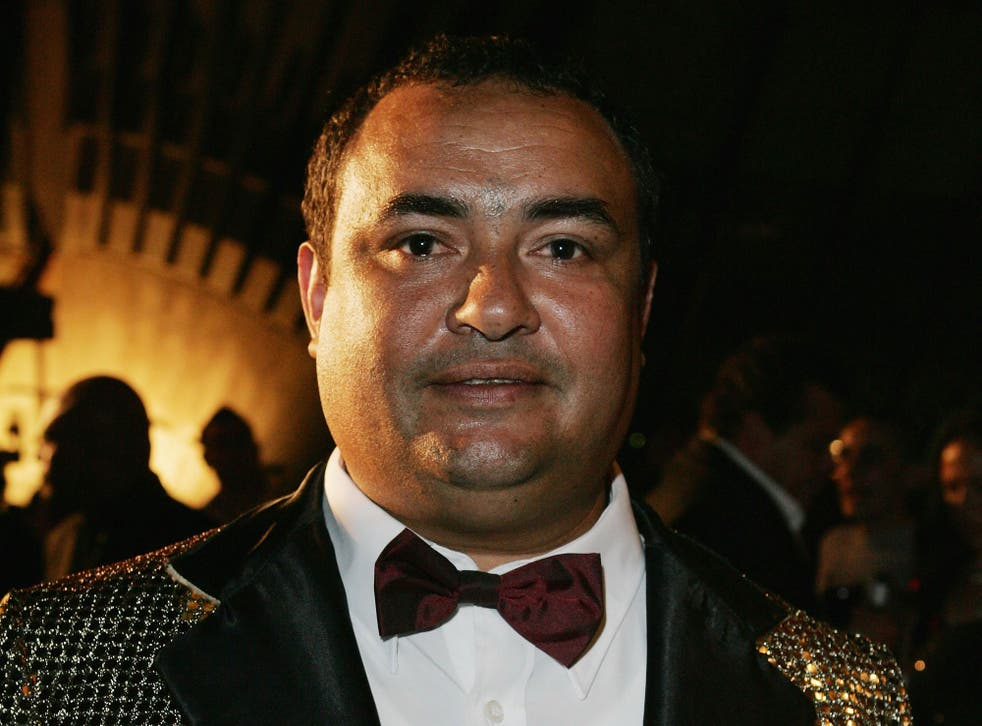 Dennis Nona photographed in 2007 at the Deadlys Awards, an annual award dedicated to the achievements of Australia's indigenous people in music, sport, entertainment and communities.
