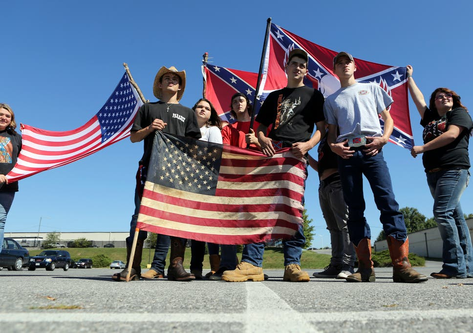 Confederate Flag 20 Virginia Students Suspended For Wearing