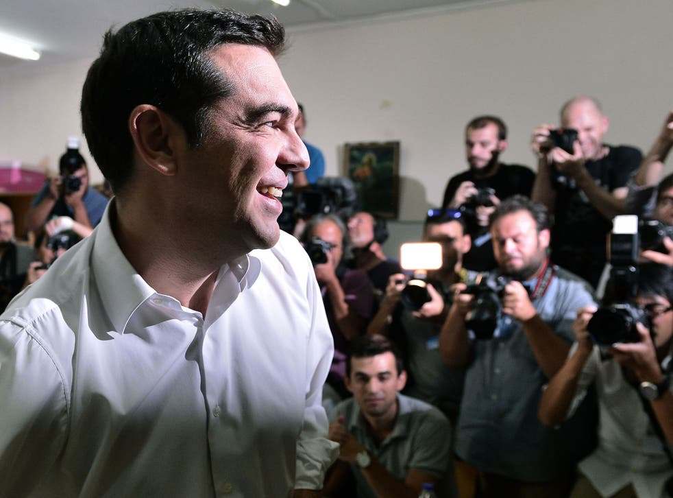 Alexis Tsipras's Syriza party defeated the right's New Democracy party, following the bailout referendum