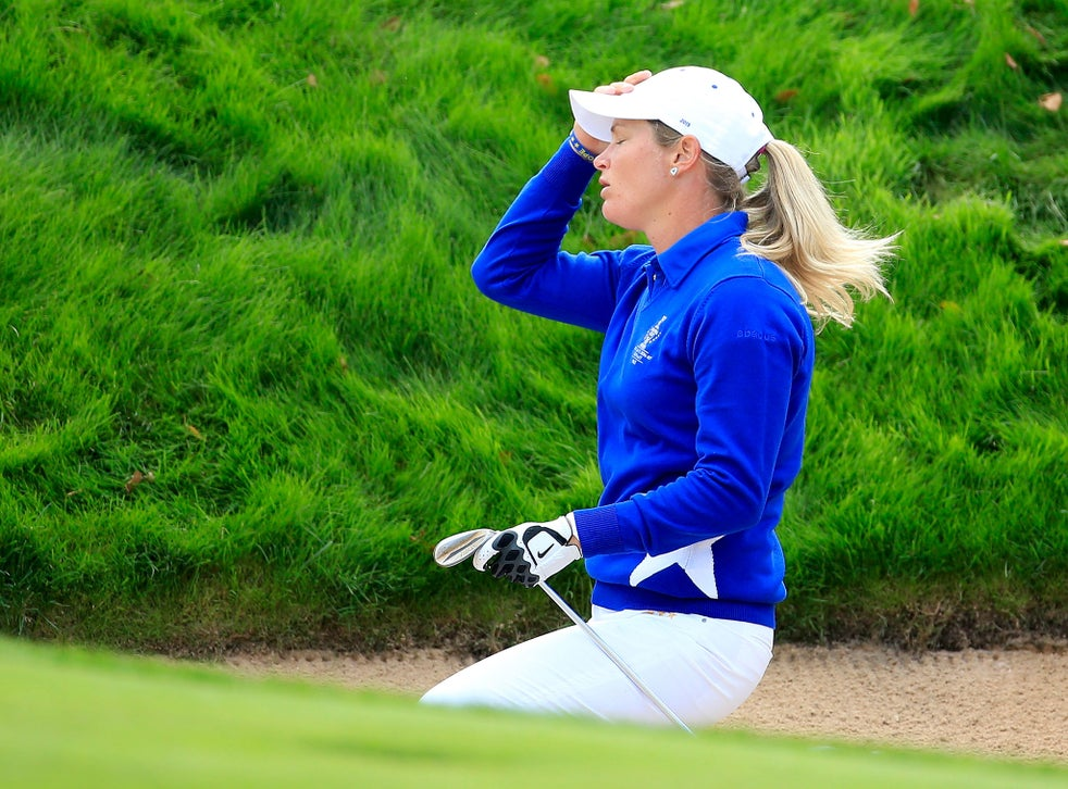 Solheim Cup 2015 Suzann Pettersen Says Sorry For Controversial Incident Hopes Alison Lee And Us Team Will Forgive Her The Independent The Independent
