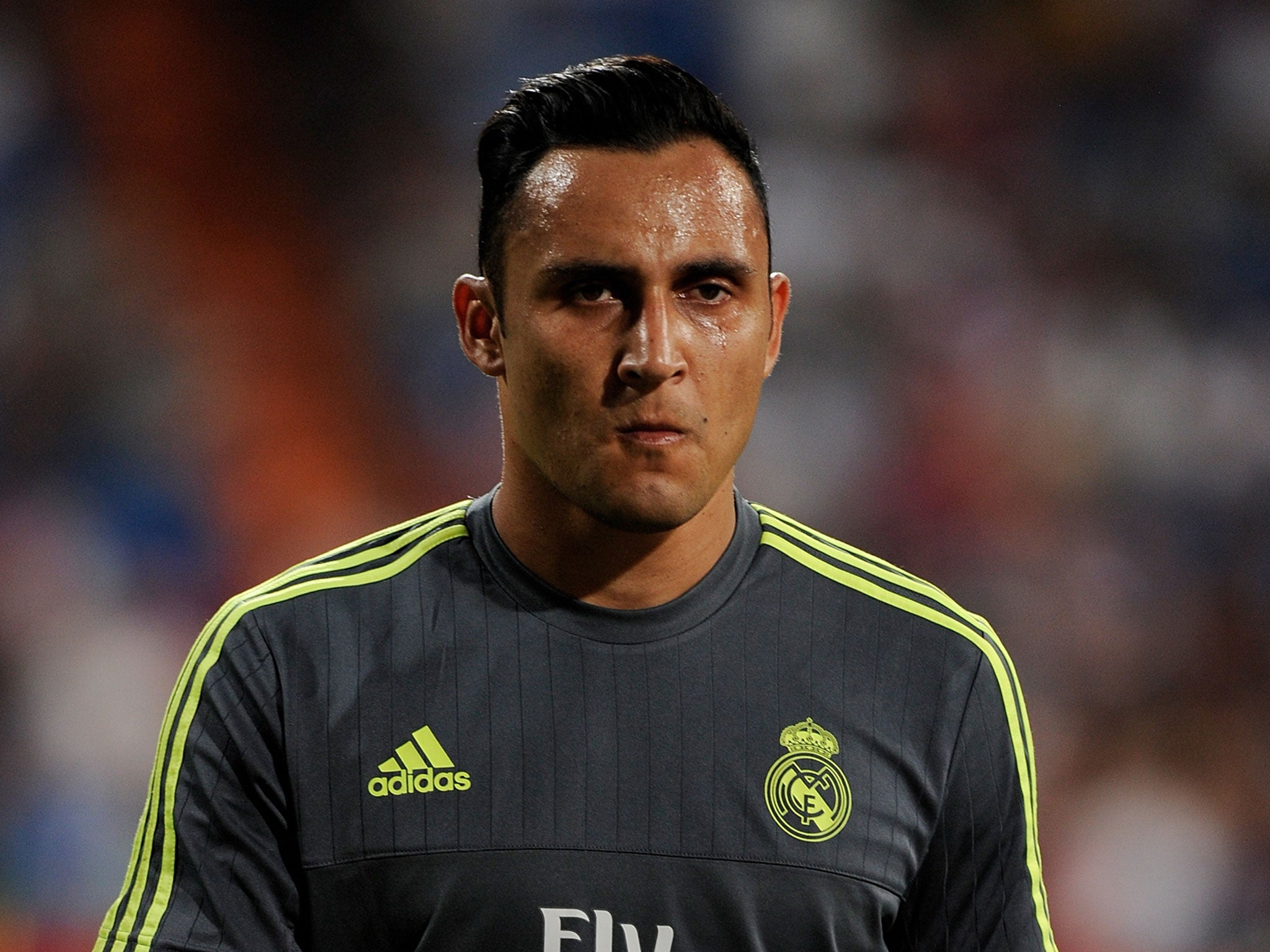 keylor navas reveals he cried when manchester united