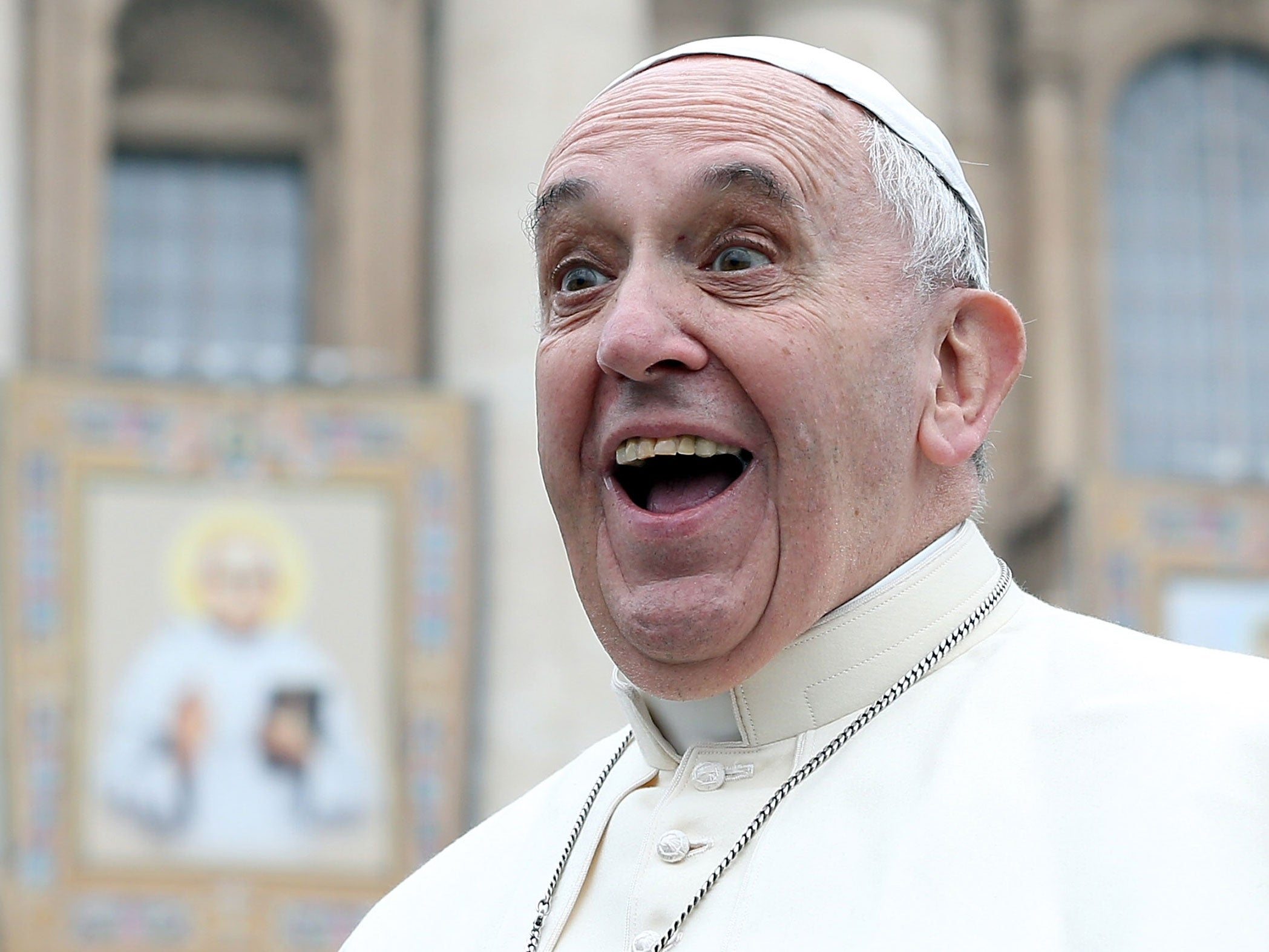 Popemania hits the United States   The Independent