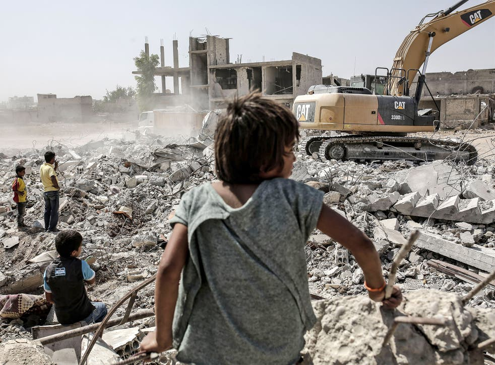 Kobani was devastated during the Isis siege and reconstruction is slow