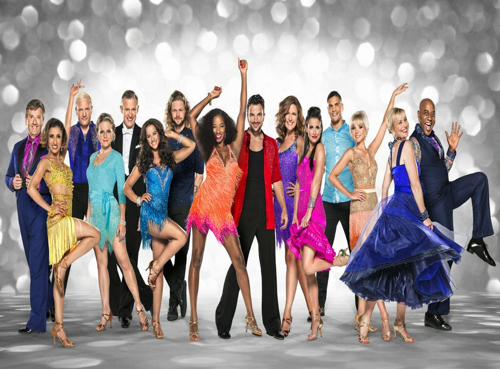 The Strictly Come Dancing 2015 contestants