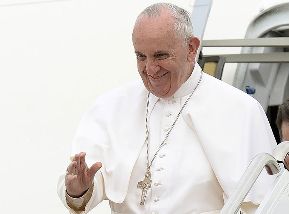 Pope Francis arrived in the US on 22 September for his first ever visit