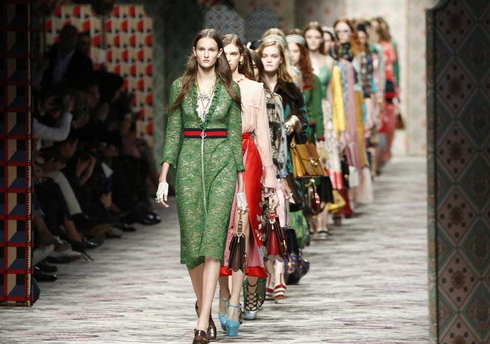 1d304f97b28bf7 Milan Fashion Week review: Gucci spring/summer 2015 | The Independent