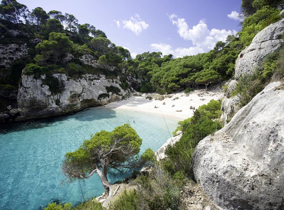Macarelleta, Menorca