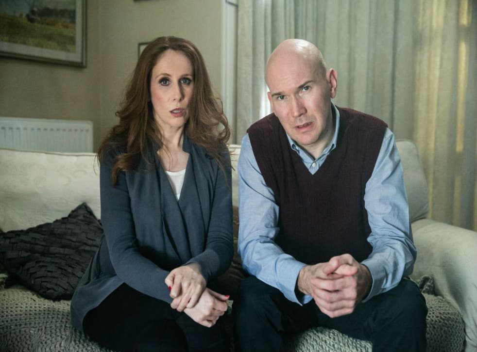 Catherine Tate and Alex Macqueen star in short dark comedy, Not Sophie's Choice