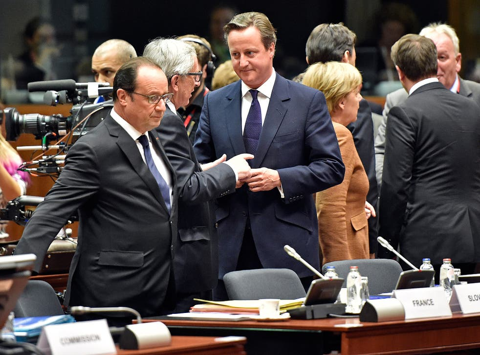 European Commission president Jean-Claude Juncker insisted there was a 'better-than-expected atmosphere' among leaders